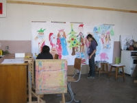 Изложба на Школа Ренина